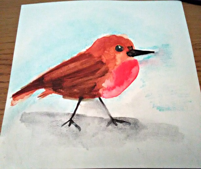 watercolour-robin